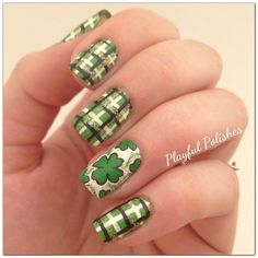 March Nail Art Challenge: Day 17, St. Patty's Day