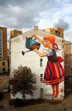 Mural, Białystok - Natalia Rak