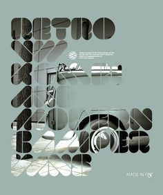Design Coolness no. 26 - we are showcasing inspiring and cool design stuff like typography, illustration and photography. Typography Poster Design, Cool Typography, Typographic Poster, Typography Fonts, Poster Designs, Typo Poster, Cv Inspiration, Typography Inspiration, Graphic Design Inspiration
