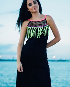 Spin Gallery Neon Dress