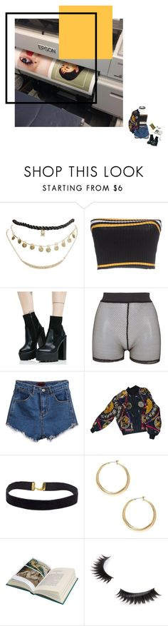 """f f c w r k"" by floralian ❤ liked on Polyvore featuring Wet Seal, Prada, Public Desire, Bitching & Junkfood, Hermès, GUESS and Boohoo"