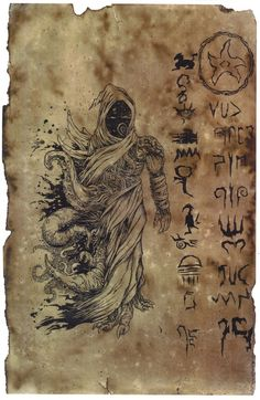 11 x cardstock treated with coffee grounds and several other common household items. The Revelation of Nyarlathotep Necronomicon Lovecraft, Lovecraft Cthulhu, Hp Lovecraft, Cthulhu Art, Call Of Cthulhu, Lovecraftian Horror, Arte Obscura, Occult Art, Gothic Art