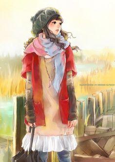 Anime manga girl... Cute #cartoon pics www.freecomputerdesktopwallpaper.com/humorwallpaper.shtml Thank you for viewing♡