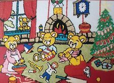 Webster Craft Large A3 Teddies Christmas Morning (New)