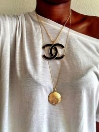$35 House of Harlow Gold Medallion Locket Necklace at https://shopsto.re/items/6369 #accessories #jewelry #necklace