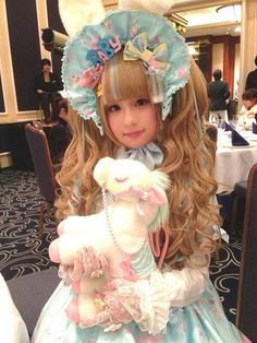 _hiyotan_ in Dreamy Baby Room from Angelic Pretty