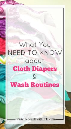 What you need to know about cloth diapers and your wash routine. Are you using the proper wash routine for your diapers? PLUS: Skittle Farts detergent mix.
