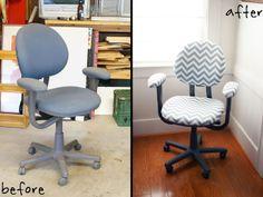 Everybody is a Genius: Trash to Treasure Desk Chair