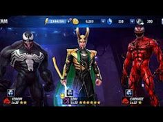 Marvel Future Fight II   Level này thì bó tay    Loki game over  I can't go out - YouTube