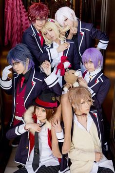 The anime sucked but the characters were pretty hot (≧∇≦)but this is a pretty accurate cosplay *Diabolik lovers*