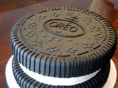 OMG it's am OREO CAKE.