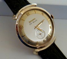 Vintage Watches Collection : Bulova 1958 - Watches Topia - Watches: Best Lists, Trends & the Latest Styles Vintage Bulova Watches, Old Watches, Watches For Men, Wrist Watches, Amazing Watches, Beautiful Watches, Art Deco Watch, The Time Machine, High Jewelry