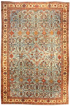 Iranian Carpet .Persian Sultanabad rug - Antique Persian Rug - Antique Rug - BB3941 by Doris Leslie Blau