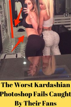 Kim and Kylie Mocked over Photoshop Fail That Gave Them Six Toes Funny Photoshop Fails, Funny Fails, Embarrassing Moments, Funny Moments, Kim And Kylie, Fail Girl, Epic Fail Pictures, Funny Pictures, Parenting Fail