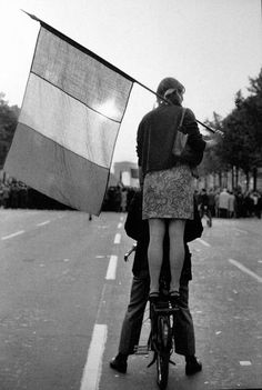 And Paris, 1968. By Henri Cartier-Bresson
