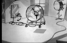 172 of 183. Beans turns on the wind machine. | Hollywood Capers (1935) | A Warner Bros./Looney Tunes short animated film featuring Beans the Cat. Directed by Jack King.