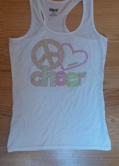 Kup mój przedmiot na #vintedpl http://www.vinted.pl/damska-odziez/bluzki-bez-rekawow/13709184-biala-koszulka-z-napisem-na-ramiaczka