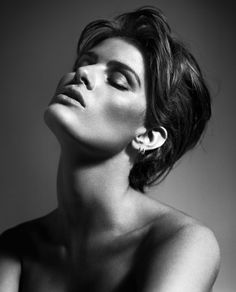 Isabeli Fontana. Photography by Vincent Peters for The Sunday Times Style Magazine September 23, 2012.