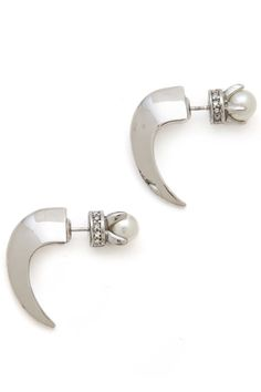 This Is A Jewelry Trend We Can Really Get Behind #refinery29  http://www.refinery29.com/decorative-earring-backs#slide8