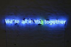 We're all in this together by artist Karen Ay, 2010