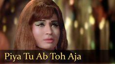 Piya Tu Ab To Aaja - Helen - Caravan - Asha Bhosle - R D Burman - Hindi ...