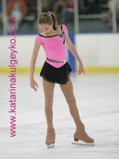 Image result for how to sew ombre skating dress