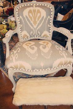 Complementos para tu dormitorio, Descalce-dora, Mariantoñeta, Silloncito, silla, Tu como lo llamas?...Gorgeous chair rehab