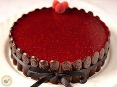Praliné Paradicsom: Málna & csokimousse torta Chocolate Mousse Cake, Raspberry Chocolate, Mini Cakes, Tiramisu, Sweets, Baking, Ethnic Recipes, Food, Gummi Candy
