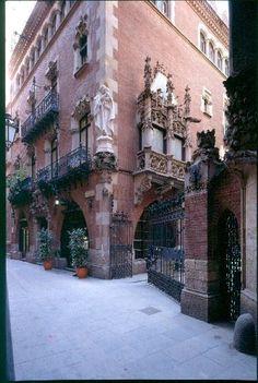 Josep Puig i Cadafalch, 1895-1896. Casa Martí