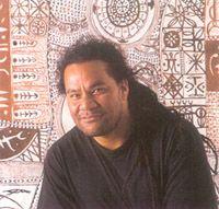 John Pule, Niuean artist Polynesian Art, New Zealand Art, Nz Art, Video Studio, Painter Artist, Male Hands, Vincent Van Gogh, Art Studios, Artist At Work