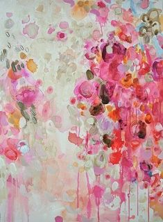a private matter ~ mixed media on canvas ~ by casey matthews