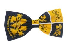 University of Michigan Football Hair Bow (Alligator Clip, Blue) >>> This is an Amazon Affiliate link. Continue to the product at the image link.