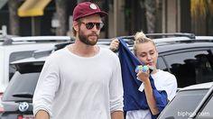 Miley Cyrus & Liam Hemsworth LookAdorable On Rare Outing In LA — Cute Pic