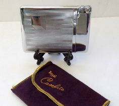 1950s Cigarette Case Lighter Combo Working by VintageTobacciana