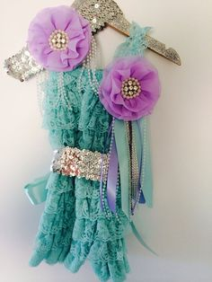 The Little Mermaid Inspired 3 Piece Lace Petti by LovCouture, $59.00