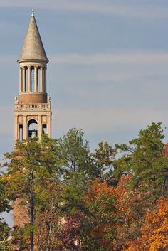 University of North Carolina Bell Tower, Chapel Hill, North Carolina- Fall is one of my favorite times of year in CH (who am I kidding? I love all times of the year in CH)