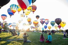 Idaho Bucket List 2017 - Spirit of Boise Hot Air Balloons