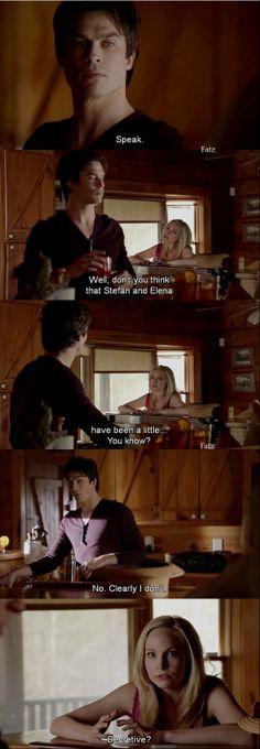 Damon and Caroline - What Lies Beneath - 5-20