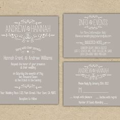 Brides.com: . 7. Think Customizable, Not Custom Instead of ordering completely custom invitations, order a DIY printable from a site like Wedding Chicks. You're able to customize certain aspects of the invite while still keeping costs low.