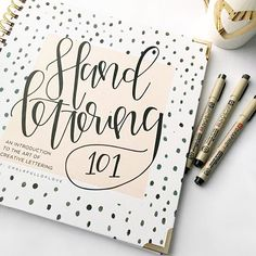 Image result for hand lettering 101 book
