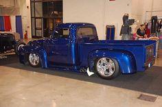 1953 Ford f100   Blue TIKI Devil Owners Jeff & Jody Freitas …   Flickr