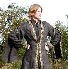 Medieval Tunic & Overcoat - Medieval Renaissance Clothing, Costume