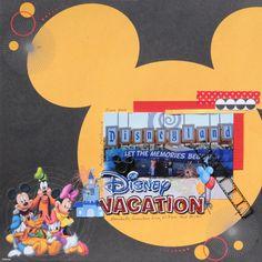Layout: Disney Vacation