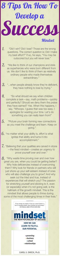 Daily Tips And Motivation   Mindset: The New Psychology of Success –  by Carol Dweck