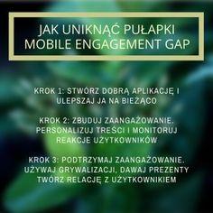 Mobile Marketing Automation | 3 kroki aby uniknąć Mobile Engagement Gap #CRMfroMobile #MobileMarketingAutomation #MobileMarketing #MarketingAutomation #EngagementGap #zaangażowanie #engagement