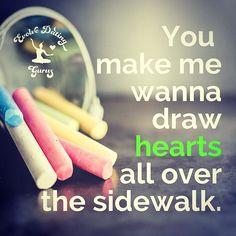 Retweet to your crush! #love #dating #evolvedating #crush #sidewalkchalk