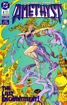 Cover for Amethyst (1987 series) #4