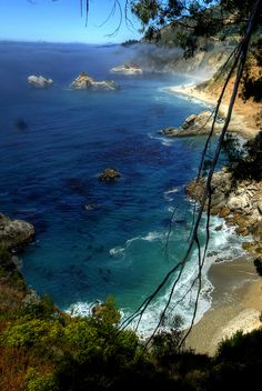 Haha I've been on this side too. :D awesome campgrounds! —Pfeiffer Big Sur State Park, California