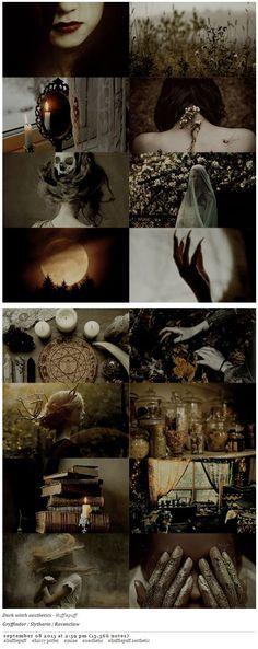 pvffskein: Dark witch aesthetics - Hufflepuff: