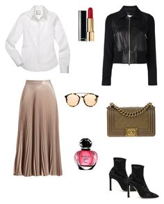 """""""One skirt three ways #3"""" by raquel-c-macias on Polyvore featuring A.L.C., Jimmy Choo, 3.1 Phillip Lim and Chanel"""